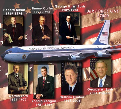 SAM 27000 Air Force One Used by 7 President's of the United States will be on display at the Air Force One Pavilion